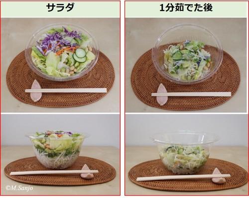 「サラダ」で摂りたい野菜の量は満たせるのか/三城円